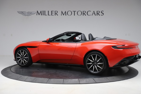 New 2020 Aston Martin DB11 Volante Convertible for sale $254,531 at Bugatti of Greenwich in Greenwich CT 06830 3