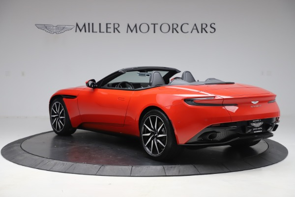 New 2020 Aston Martin DB11 Volante Convertible for sale $254,531 at Bugatti of Greenwich in Greenwich CT 06830 4