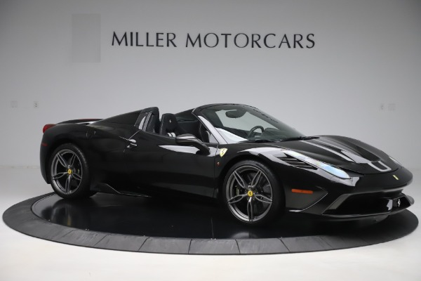 Used 2015 Ferrari 458 Speciale Aperta for sale $635,900 at Bugatti of Greenwich in Greenwich CT 06830 10