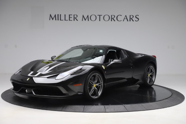 Used 2015 Ferrari 458 Speciale Aperta for sale $635,900 at Bugatti of Greenwich in Greenwich CT 06830 13