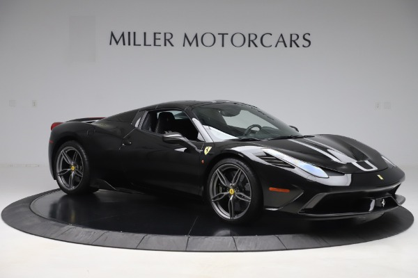Used 2015 Ferrari 458 Speciale Aperta for sale $635,900 at Bugatti of Greenwich in Greenwich CT 06830 18