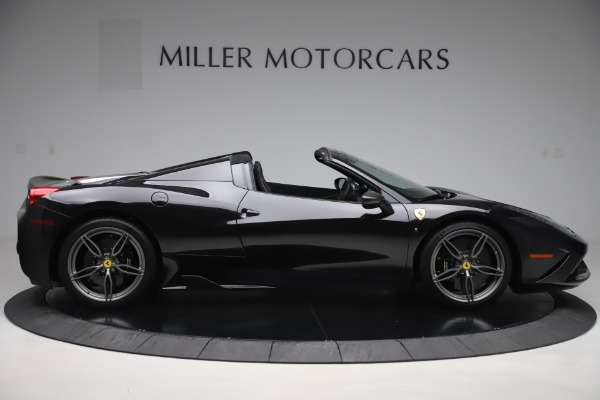 Used 2015 Ferrari 458 Speciale Aperta for sale $635,900 at Bugatti of Greenwich in Greenwich CT 06830 9