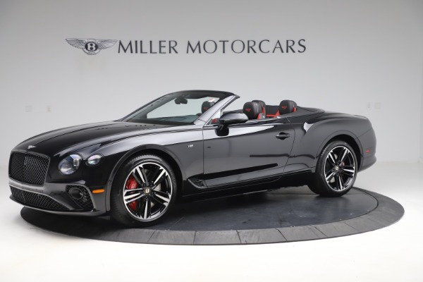 New 2020 Bentley Continental GTC V8 for sale $271,550 at Bugatti of Greenwich in Greenwich CT 06830 2