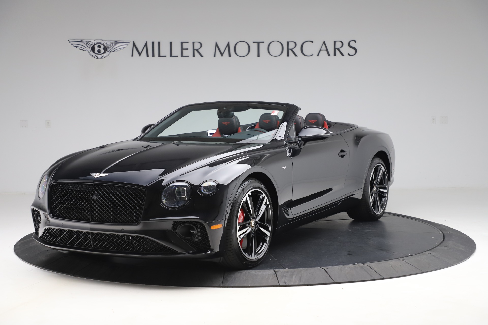 New 2020 Bentley Continental GTC V8 for sale $271,550 at Bugatti of Greenwich in Greenwich CT 06830 1