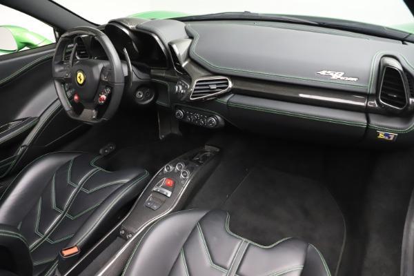 Used 2015 Ferrari 458 Spider for sale Sold at Bugatti of Greenwich in Greenwich CT 06830 23