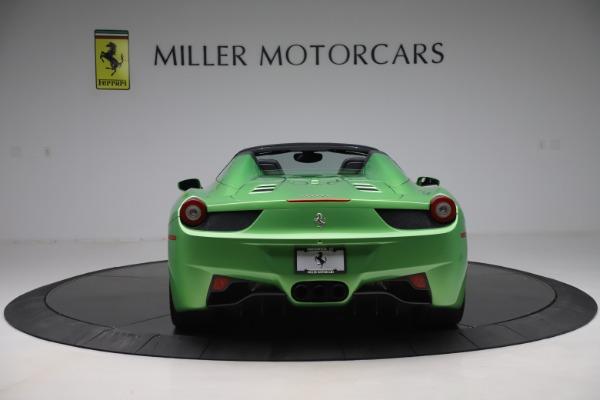 Used 2015 Ferrari 458 Spider for sale Sold at Bugatti of Greenwich in Greenwich CT 06830 6