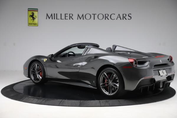 Used 2018 Ferrari 488 Spider for sale $283,900 at Bugatti of Greenwich in Greenwich CT 06830 4