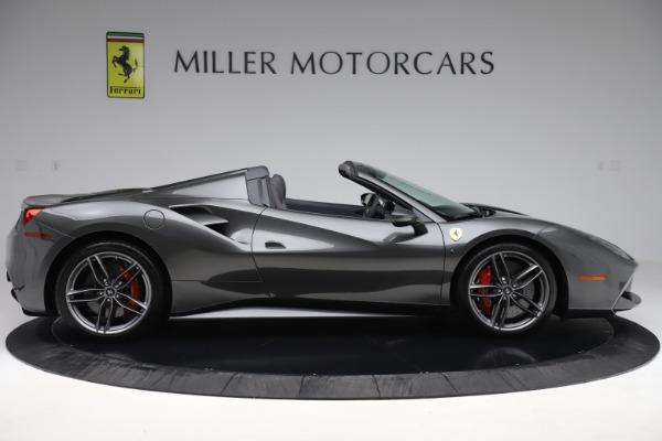 Used 2018 Ferrari 488 Spider for sale $283,900 at Bugatti of Greenwich in Greenwich CT 06830 9