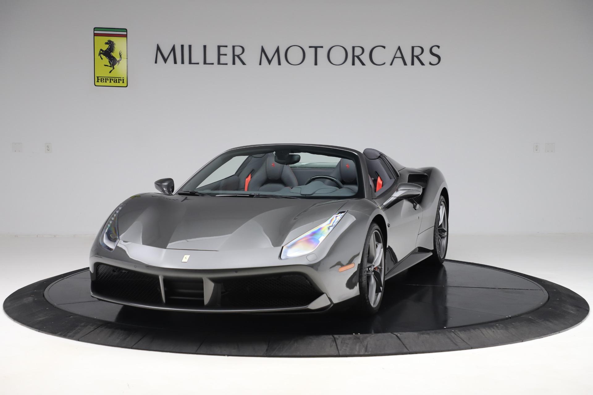 Used 2018 Ferrari 488 Spider for sale $283,900 at Bugatti of Greenwich in Greenwich CT 06830 1