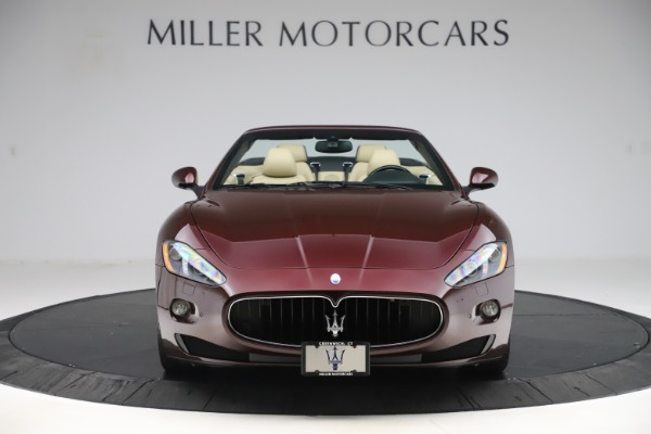 Used 2013 Maserati GranTurismo for sale Sold at Bugatti of Greenwich in Greenwich CT 06830 12