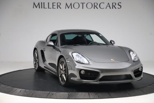 Used 2015 Porsche Cayman S for sale Sold at Bugatti of Greenwich in Greenwich CT 06830 11