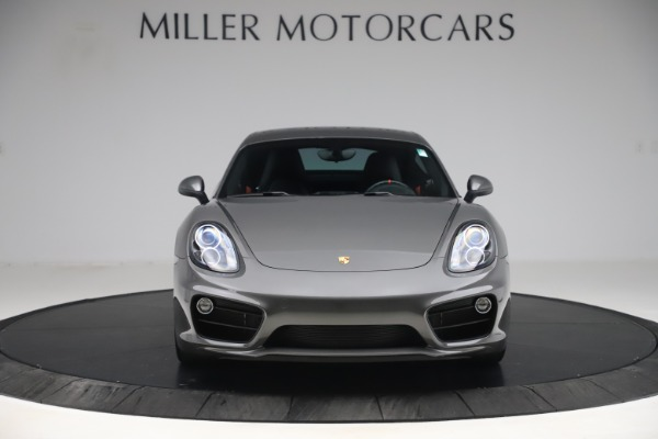 Used 2015 Porsche Cayman S for sale Sold at Bugatti of Greenwich in Greenwich CT 06830 12