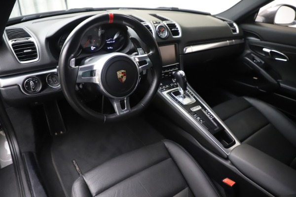 Used 2015 Porsche Cayman S for sale Sold at Bugatti of Greenwich in Greenwich CT 06830 13