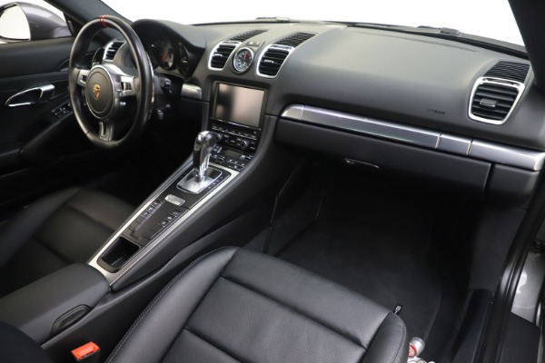 Used 2015 Porsche Cayman S for sale Sold at Bugatti of Greenwich in Greenwich CT 06830 18