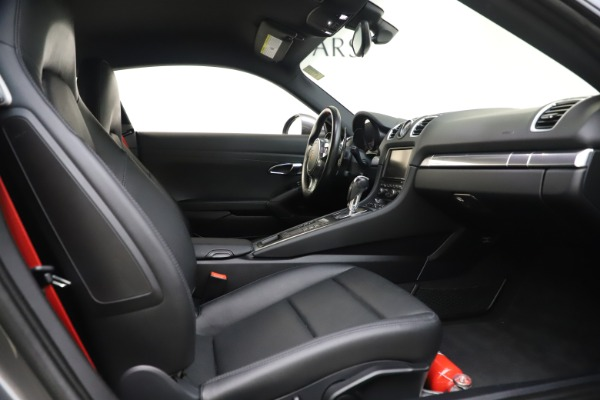 Used 2015 Porsche Cayman S for sale Sold at Bugatti of Greenwich in Greenwich CT 06830 19