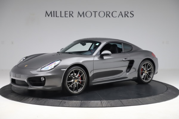 Used 2015 Porsche Cayman S for sale Sold at Bugatti of Greenwich in Greenwich CT 06830 2