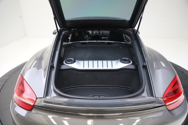 Used 2015 Porsche Cayman S for sale Sold at Bugatti of Greenwich in Greenwich CT 06830 24