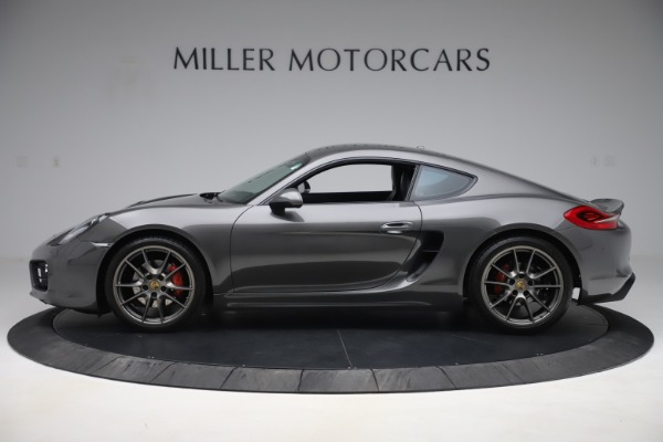 Used 2015 Porsche Cayman S for sale Sold at Bugatti of Greenwich in Greenwich CT 06830 3