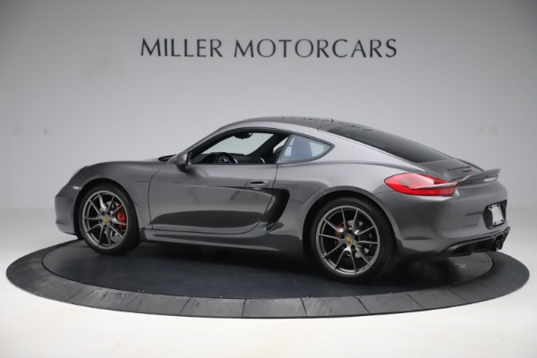 Used 2015 Porsche Cayman S for sale Sold at Bugatti of Greenwich in Greenwich CT 06830 4