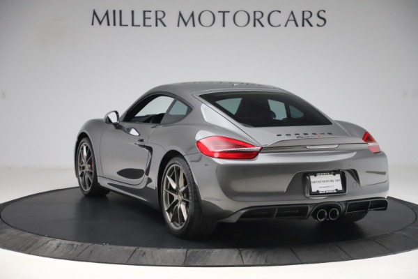 Used 2015 Porsche Cayman S for sale Sold at Bugatti of Greenwich in Greenwich CT 06830 5
