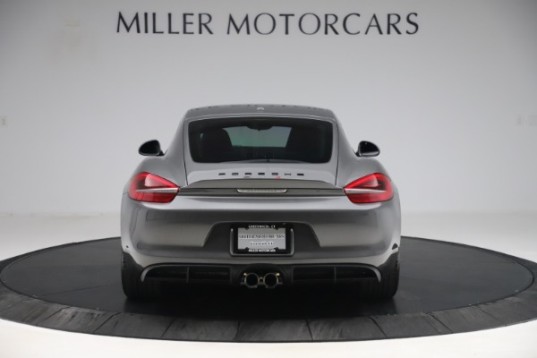 Used 2015 Porsche Cayman S for sale Sold at Bugatti of Greenwich in Greenwich CT 06830 6
