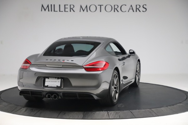 Used 2015 Porsche Cayman S for sale Sold at Bugatti of Greenwich in Greenwich CT 06830 7