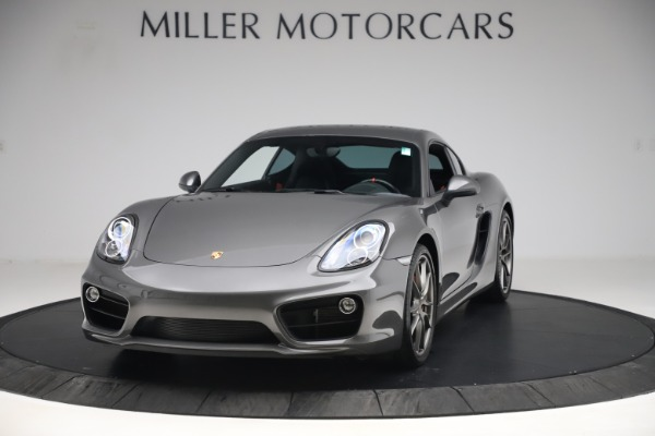 Used 2015 Porsche Cayman S for sale Sold at Bugatti of Greenwich in Greenwich CT 06830 1