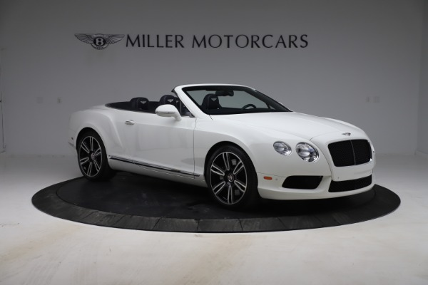Used 2015 Bentley Continental GTC V8 for sale Sold at Bugatti of Greenwich in Greenwich CT 06830 11