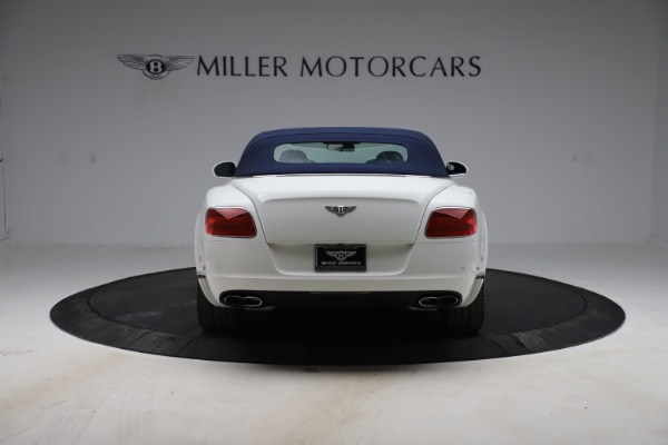 Used 2015 Bentley Continental GTC V8 for sale Sold at Bugatti of Greenwich in Greenwich CT 06830 16