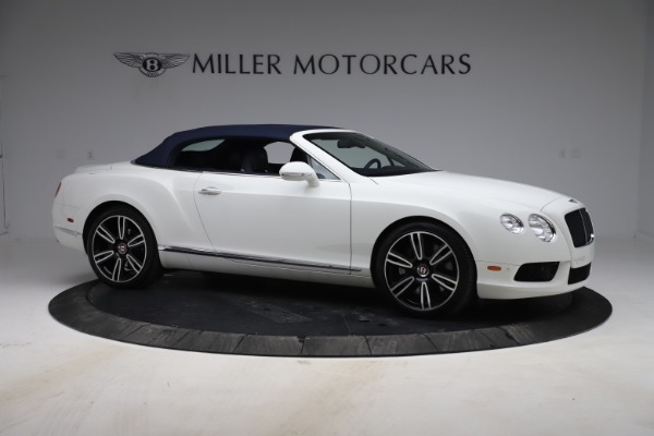 Used 2015 Bentley Continental GTC V8 for sale Sold at Bugatti of Greenwich in Greenwich CT 06830 19
