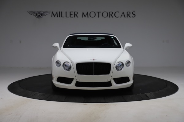 Used 2015 Bentley Continental GTC V8 for sale Sold at Bugatti of Greenwich in Greenwich CT 06830 20