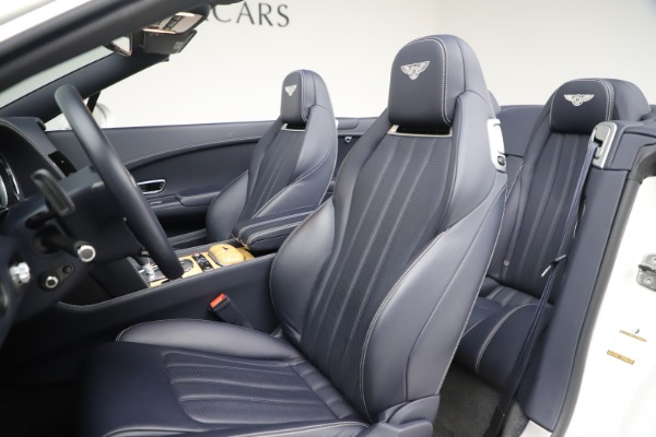 Used 2015 Bentley Continental GTC V8 for sale Sold at Bugatti of Greenwich in Greenwich CT 06830 27