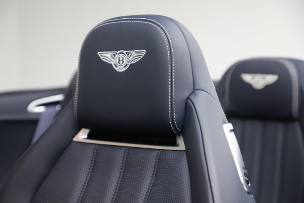 Used 2015 Bentley Continental GTC V8 for sale Sold at Bugatti of Greenwich in Greenwich CT 06830 28