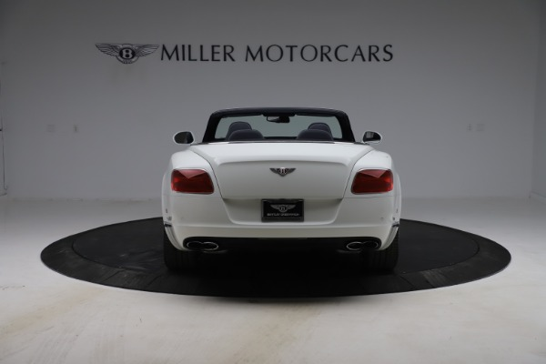 Used 2015 Bentley Continental GTC V8 for sale Sold at Bugatti of Greenwich in Greenwich CT 06830 6
