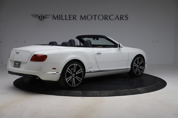 Used 2015 Bentley Continental GTC V8 for sale Sold at Bugatti of Greenwich in Greenwich CT 06830 8