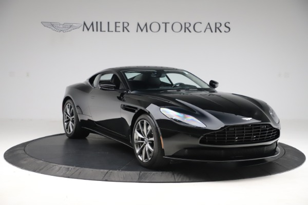 Used 2018 Aston Martin DB11 V8 for sale $139,900 at Bugatti of Greenwich in Greenwich CT 06830 10