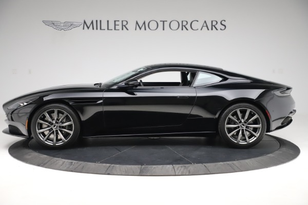 Used 2018 Aston Martin DB11 V8 for sale $139,900 at Bugatti of Greenwich in Greenwich CT 06830 2