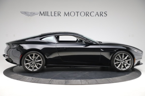 Used 2018 Aston Martin DB11 V8 for sale $139,900 at Bugatti of Greenwich in Greenwich CT 06830 8