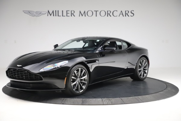 Used 2018 Aston Martin DB11 V8 for sale $139,900 at Bugatti of Greenwich in Greenwich CT 06830 1