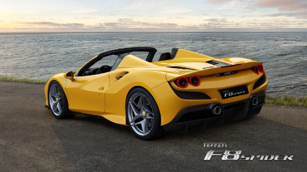 New 2020 Ferrari F8 Spider for sale Call for price at Bugatti of Greenwich in Greenwich CT 06830 4