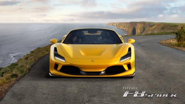 New 2021 Ferrari F8 Spider for sale Call for price at Bugatti of Greenwich in Greenwich CT 06830 5