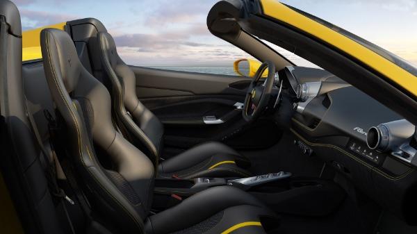 New 2021 Ferrari F8 Spider for sale Call for price at Bugatti of Greenwich in Greenwich CT 06830 7