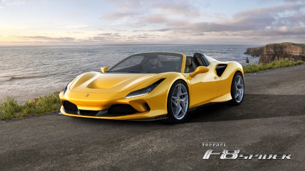 New 2020 Ferrari F8 Spider for sale Call for price at Bugatti of Greenwich in Greenwich CT 06830 1