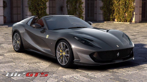 New 2020 Ferrari 812GTS for sale Call for price at Bugatti of Greenwich in Greenwich CT 06830 2