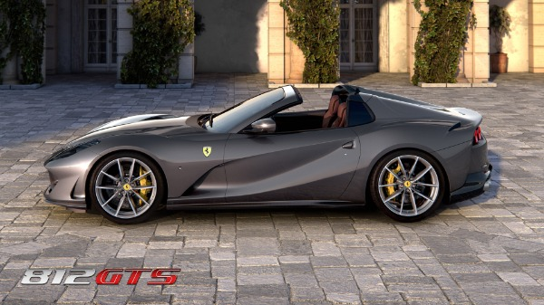 New 2021 Ferrari 812GTS for sale Call for price at Bugatti of Greenwich in Greenwich CT 06830 3