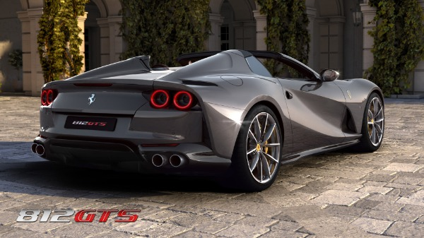 New 2021 Ferrari 812GTS for sale Call for price at Bugatti of Greenwich in Greenwich CT 06830 5