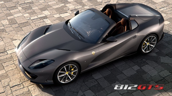 New 2020 Ferrari 812GTS for sale Call for price at Bugatti of Greenwich in Greenwich CT 06830 1