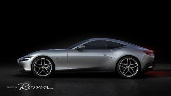 New 2021 Ferrari Roma for sale Call for price at Bugatti of Greenwich in Greenwich CT 06830 2
