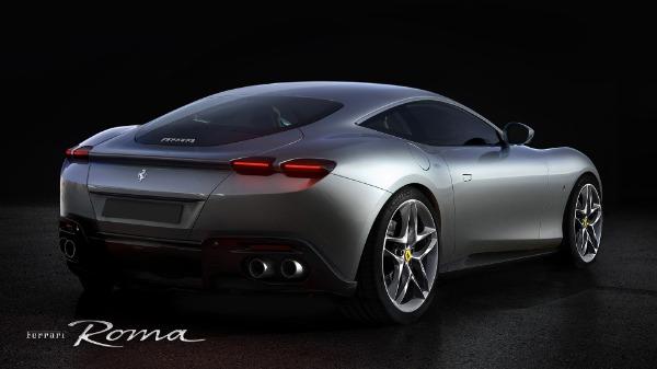 New 2021 Ferrari Roma for sale Call for price at Bugatti of Greenwich in Greenwich CT 06830 4