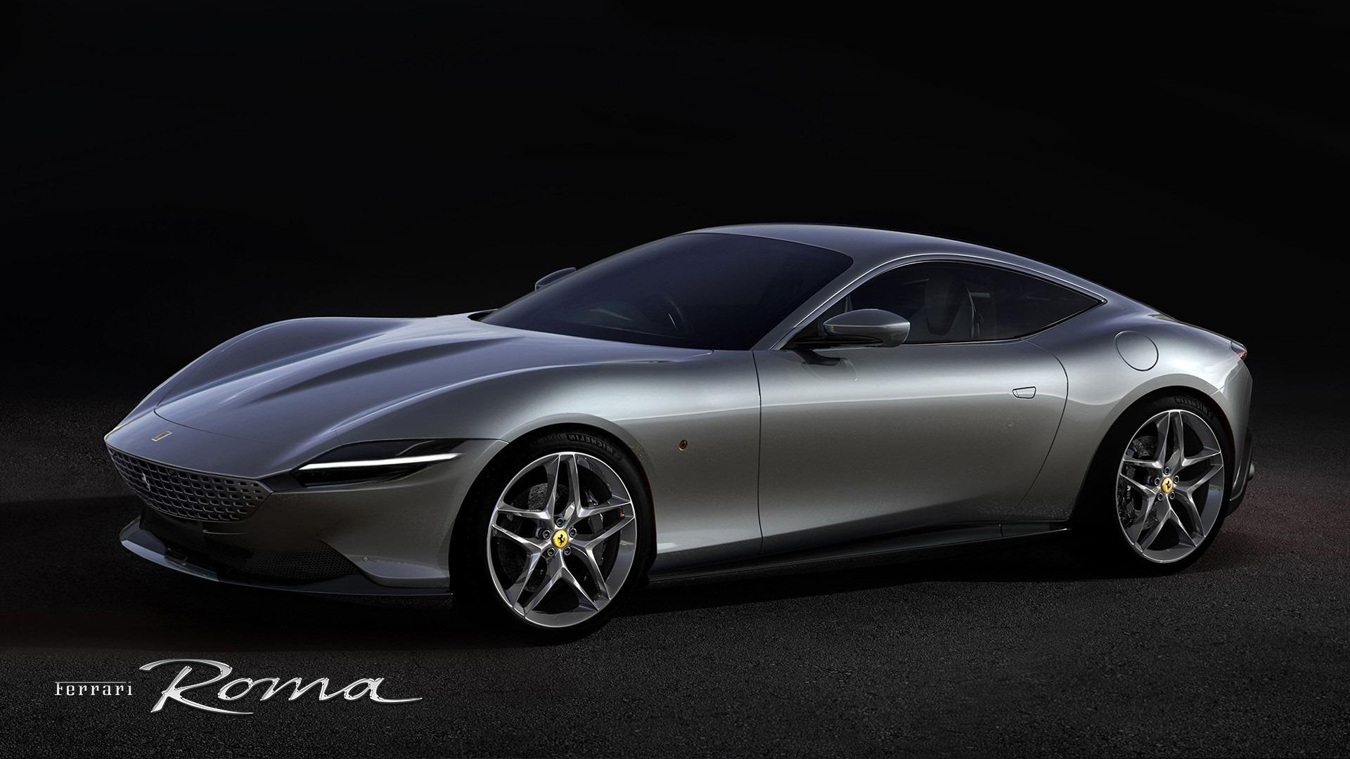 New 2021 Ferrari Roma for sale Call for price at Bugatti of Greenwich in Greenwich CT 06830 1